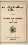 Trinity College Bulletin, January 1919 (Students' Army Training)