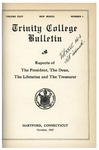 Trinity College Bulletin, 1926-1927 (Report of the President)