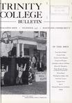 Trinity College Bulletin, December 1956
