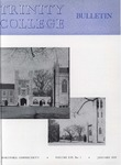 Trinity College Bulletin, January 1959