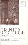 Trinity College Bulletin, 1960 (Summer Term)
