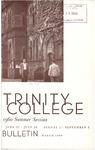 Trinity College Bulletin, 1960 (Summer Term)
