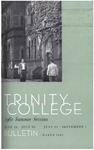 Trinity College Bulletin, 1961 (Summer Term) by Trinity College