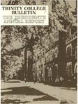 Trinity College Bulletin, 1974-1975 (Report of the President) by Trinity College