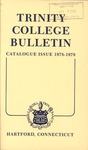Trinity College Bulletin, 1978-1979 (Catalogue Issue)
