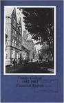 Trinity College Bulletin, 1982-1983 (Report of the Treasurer)