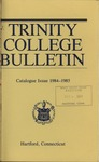 Trinity College Bulletin, 1984-1985 (Catalogue Issue)