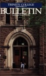 Trinity College Bulletin, 1990-1991 (Catalogue Issue)