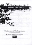 Trinity College Bulletin, 1991 (Summer Term)