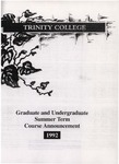 Trinity College Bulletin, 1992 (Summer Term)