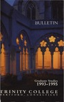 Trinity College Bulletin, 1993-1995 (Graduate Studies) by Trinity College