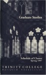 Trinity College Bulletin, 1997 (Spring Graduate Studies) by Trinity College