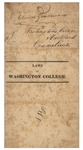 Laws of Washington College by Trinity College