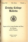 Trinity College Bulletin, 1943-44 (Report of the Acting President and Dean)