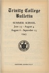 Trinity College Bulletin, 1944-45 (Summer School)
