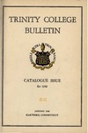 Trinity College Bulletin, 1949 (Catalogue) by Trinity College