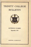 Trinity College Bulletin, 1949 (Extension Number)