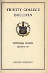 Trinity College Bulletin, 1950 (Extension Number)