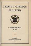 Trinity College Bulletin, 1951 (Catalogue)