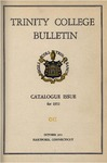 Trinity College Bulletin, 1952 (Catalogue) by Trinity College