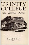 Trinity College Bulletin, 1952 (Summer Session)