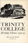 Trinity College Bulletin, 1952 (Evening Classes)