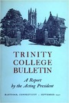 Trinity College Bulletin, 1951-1952 (Report of the Acting President)