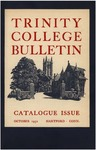 Trinity College Bulletin, 1952 (Catalogue Issue)