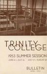 Trinity College Bulletin, 1953 (Summer Session)
