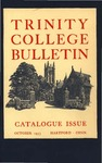 Trinity College Bulletin, 1953 (Catalogue Issue)