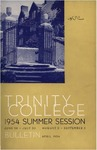 Trinity College Bulletin, 1954 (Summer Session)