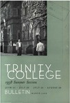 Trinity College Bulletin, 1958 (Summer Session)