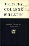 Trinity College Bulletin, 1959 (Catalogue Issue)
