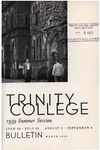 Trinity College Bulletin, 1959 (Summer Session)