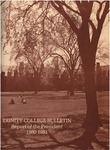 Trinity College Bulletin, 1980-1981 (Report of the President)