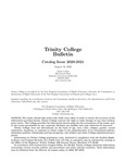 Trinity College Bulletin, 2020-2021