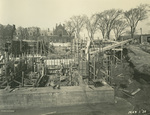 Trinity College Chapel construction, May 1, 1930