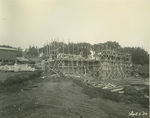 Trinity College Chapel construction, September 2, 1930
