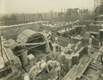 Trinity College Chapel construction, September 13, 1930