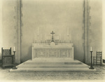 Trinity College Chapel high altar by Unknown and Frohman, Robb and Little (architectural firm)