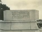 Trinity College Chapel cornerstone, July 1, 1930