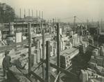 Trinity College Chapel construction, November 3, 1930
