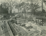 Trinity College Chapel construction, November 3, 1930 by William G. Dudley (photographer) and Frohman, Robb and Little (architectural firm)