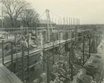 Trinity College Chapel construction, December 1, 1930