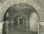 Trinity College Chapel construction, December 19, 1930