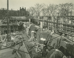 Trinity College Chapel construction, January 2, 1931