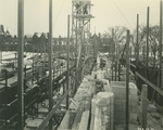 Trinity College Chapel construction, February 12, 1931