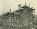 Trinity College Chapel construction, April 4, 1931