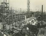 Trinity College Chapel construction, February 12, 1931