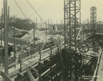 Trinity College Chapel construction, May 1, 1931